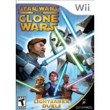 Star Wars The Clone Wars: Lightsaber Duels - Wii