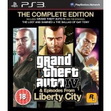 Grand Theft Auto IV & Episodes from Liberty City Complete - PS3